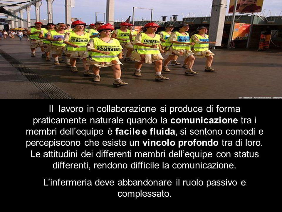 Il lavoro in collaborazione si produce di forma praticamente naturale quando la comunicazione tra i membri dellequipe è facile e fluida, si sentono comodi e percepiscono che esiste un vincolo profondo tra di loro.
