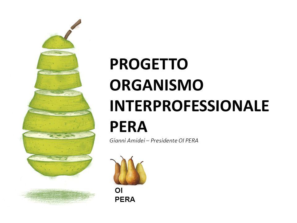 PROGETTO ORGANISMO INTERPROFESSIONALE PERA Gianni Amidei – Presidente OI PERA OI PERA