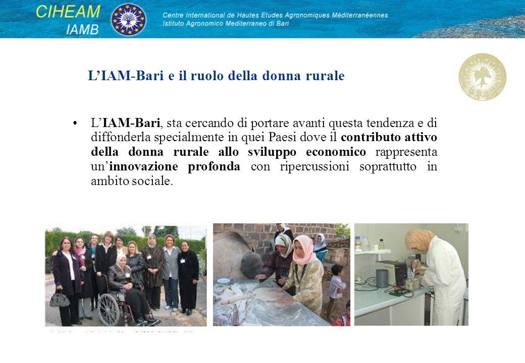 LIAM-Bari, sta cercando di portare avanti questa tendenza e di diffonderla specialmente in quei Paesi dove il contributo attivo della donna rurale all