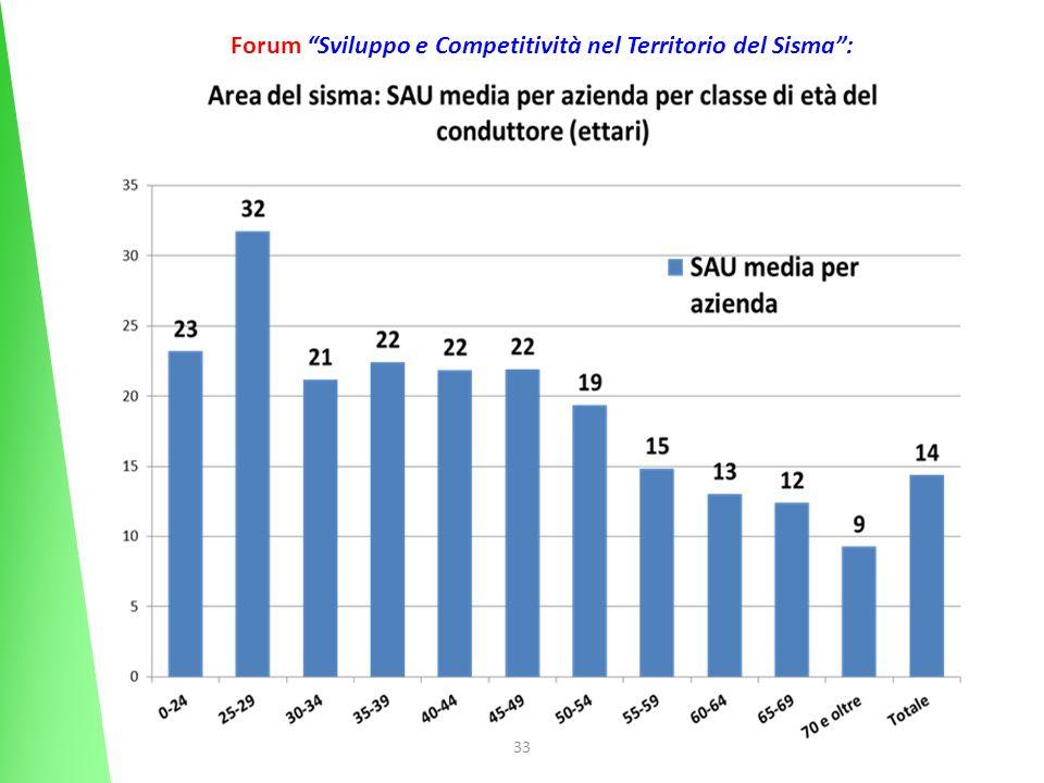 33 Forum Sviluppo e Competitività nel Territorio del Sisma: