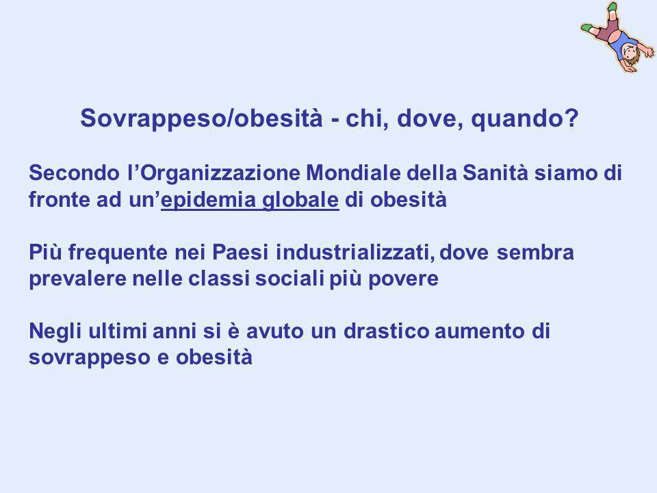 Contesto dellindagine Città di Civita Castellana: 15974 abitanti Scuole Medie: 2, con 8 classi di prima per un totale di 178 bambini (22,2 alunni/classe in media) prevalenza di sovrappeso-obesità 20%?