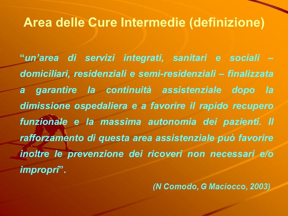 unarea di servizi integrati, sanitari e sociali – domiciliari, residenziali e semi-residenziali – finalizzata a garantire la continuità assistenziale