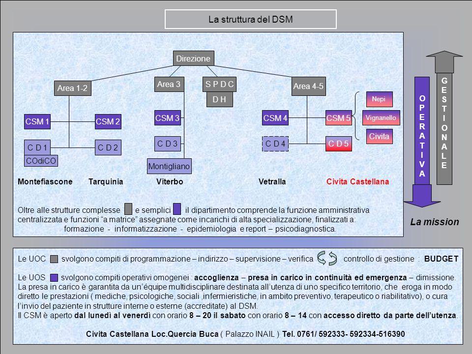 Le UOC svolgono compiti di programmazione – indirizzo – supervisione – verifica controllo di gestione : BUDGET Le UOS svolgono compiti operativi omoge