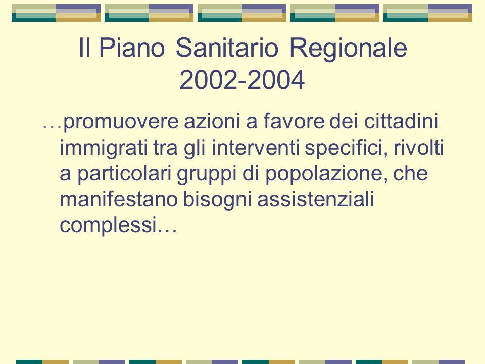 Indicazioni della Regione Lazio(gennaio 2004) Promozione di un sistema di mediazione culturale atto a superare gli ostacoli comunicativi e relazionali che impediscono il successo dellincontro domanda offerta di salute nella popolazione immigrata