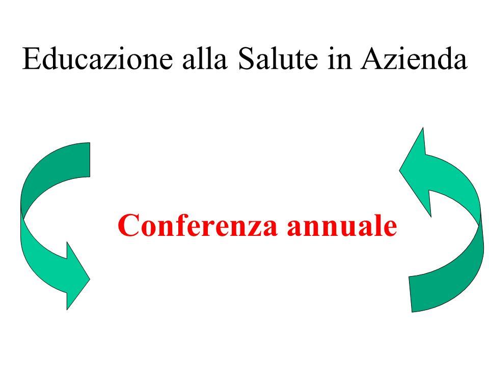 Educazione alla Salute in Azienda Conferenza annuale