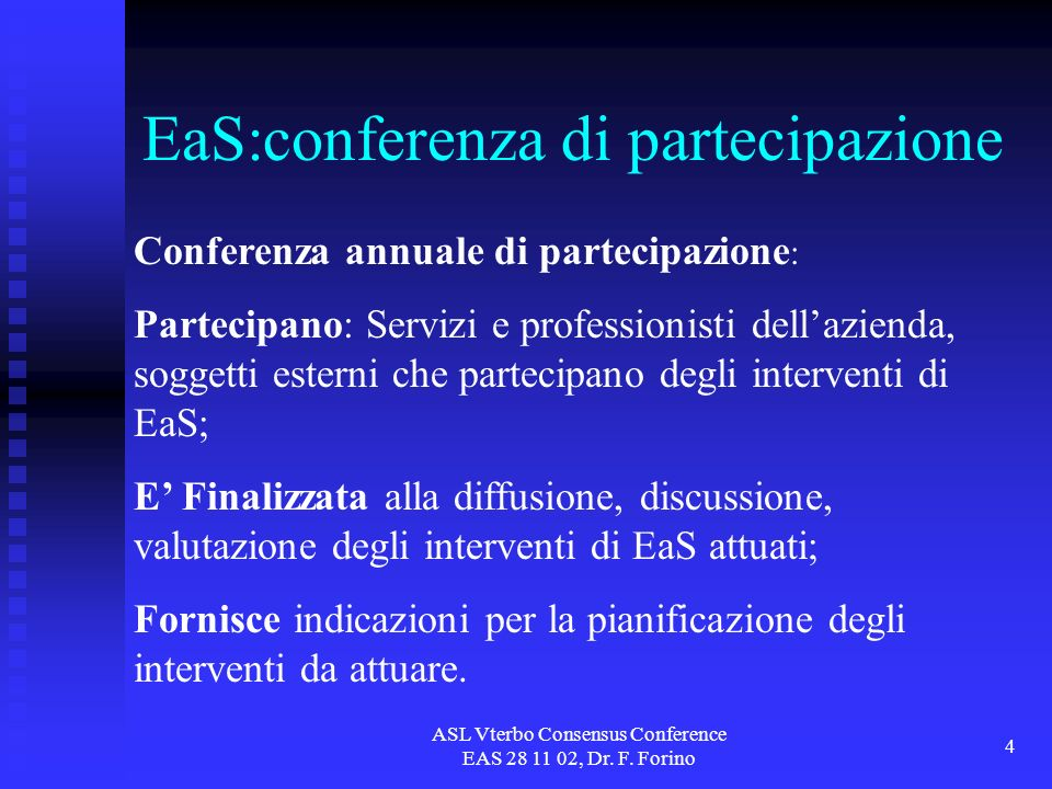 ASL Vterbo Consensus Conference EAS 28 11 02, Dr. F.