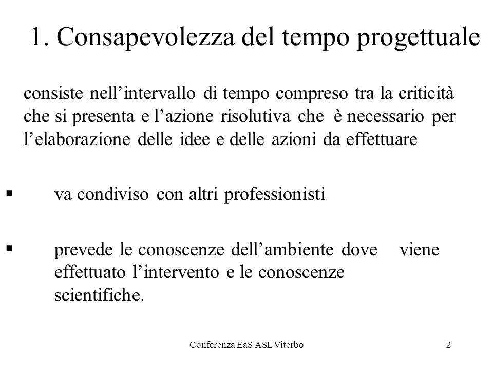 Conferenza EaS ASL Viterbo13 Conclusioni LE.a.S.