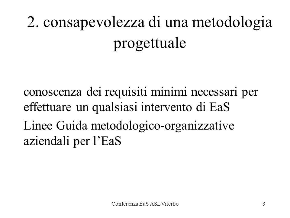 Conferenza EaS ASL Viterbo4 3.