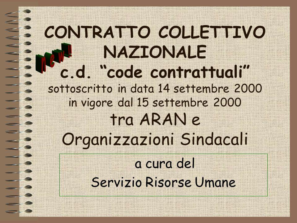 CONTRATTO COLLETTIVO NAZIONALE c.d.