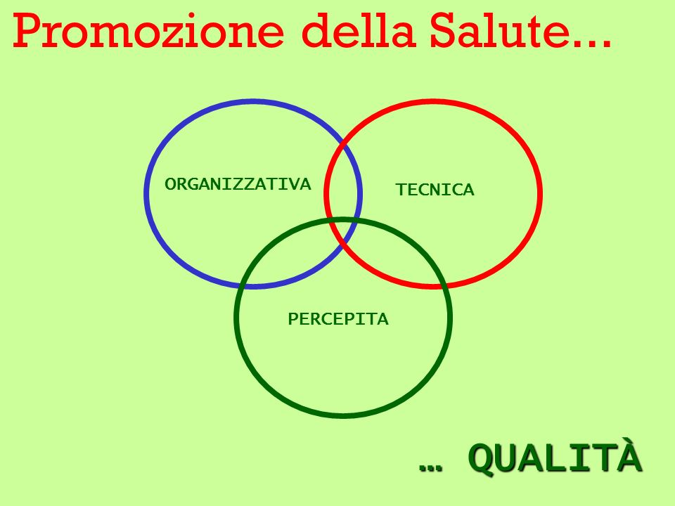 Formative Evaluation (analisi bisogni –istruttoria documentale) Process Evaluation (programma – attività – strumenti) Outcome Evaluation (risultati: prestazioni – determinanti – salute)