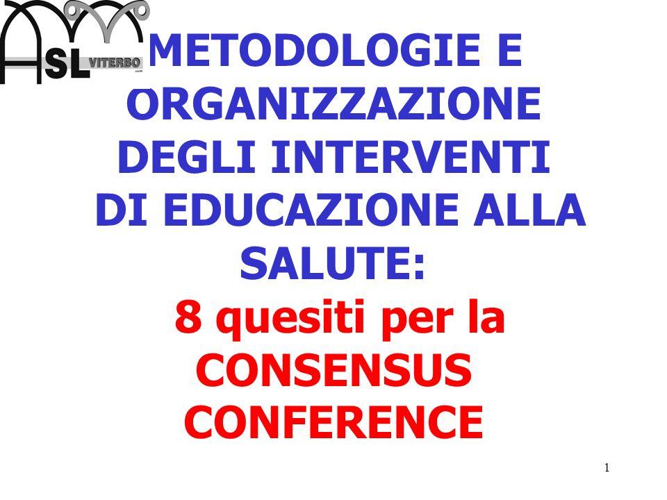 2 1 - QUALE RILEVANZA ETICA PER GLI INTERVENTI DI EDUCAZIONE ALLA SALUTE.