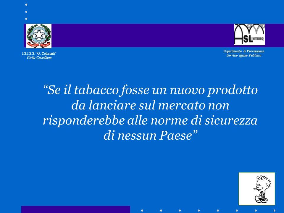 I.S.I.S.S. G. Colasanti Civita Castellana Dipartimento di Prevenzione Servizio Igiene Pubblica IL CONTRIBUTO DI UNA INDUSTRIA CERAMICA DI CIVITA CASTE