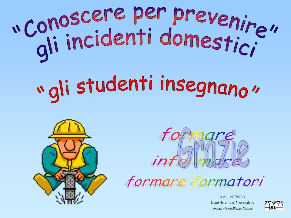 29 A.S.L. VITERBO Dipartimento di Prevenzione dr.ssa Maria Elena Cianchi