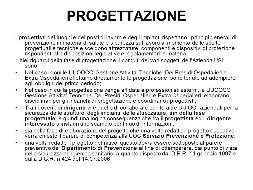 REALIZZAZIONE Effettuazione dei lavori in unarea libera sarà cura del Responsabile del Procedimento che, nel campo di applicazione del D.Lgs 12 Aprile 2006 n° 163 e ss.mm.