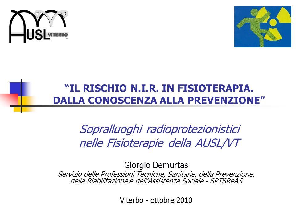 IL RISCHIO N.I.R.IN FISIOTERAPIA La U.O.