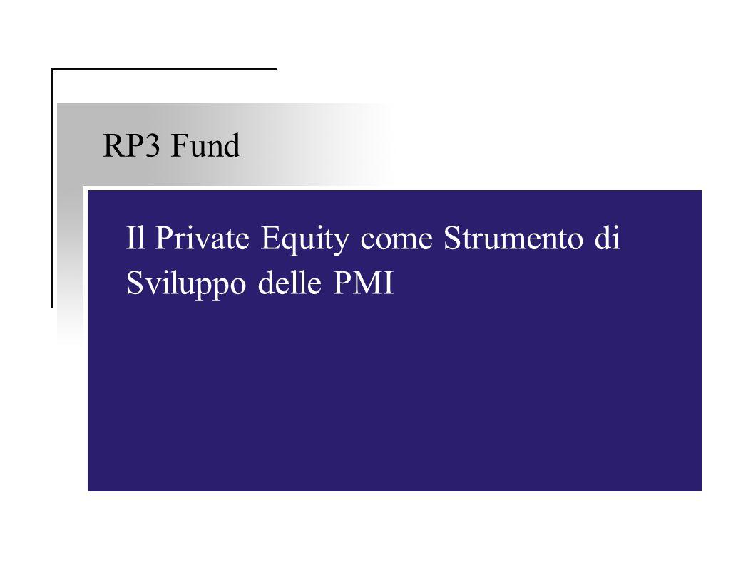 RP3 Fund Il Private Equity come Strumento di Sviluppo delle PMI