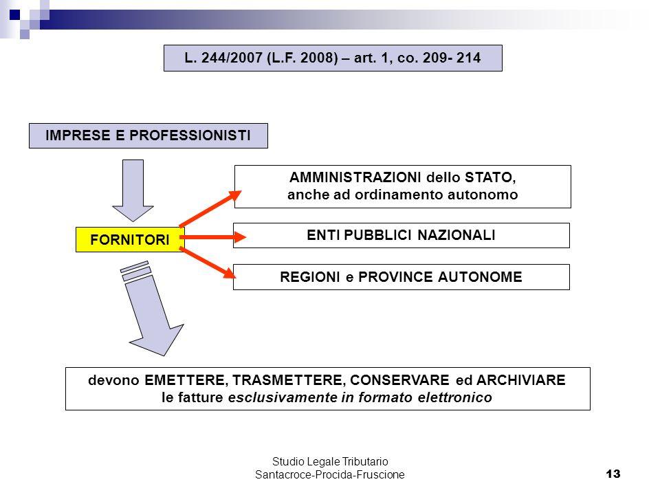 13 Studio Legale Tributario Santacroce-Procida-Fruscione 13 L.