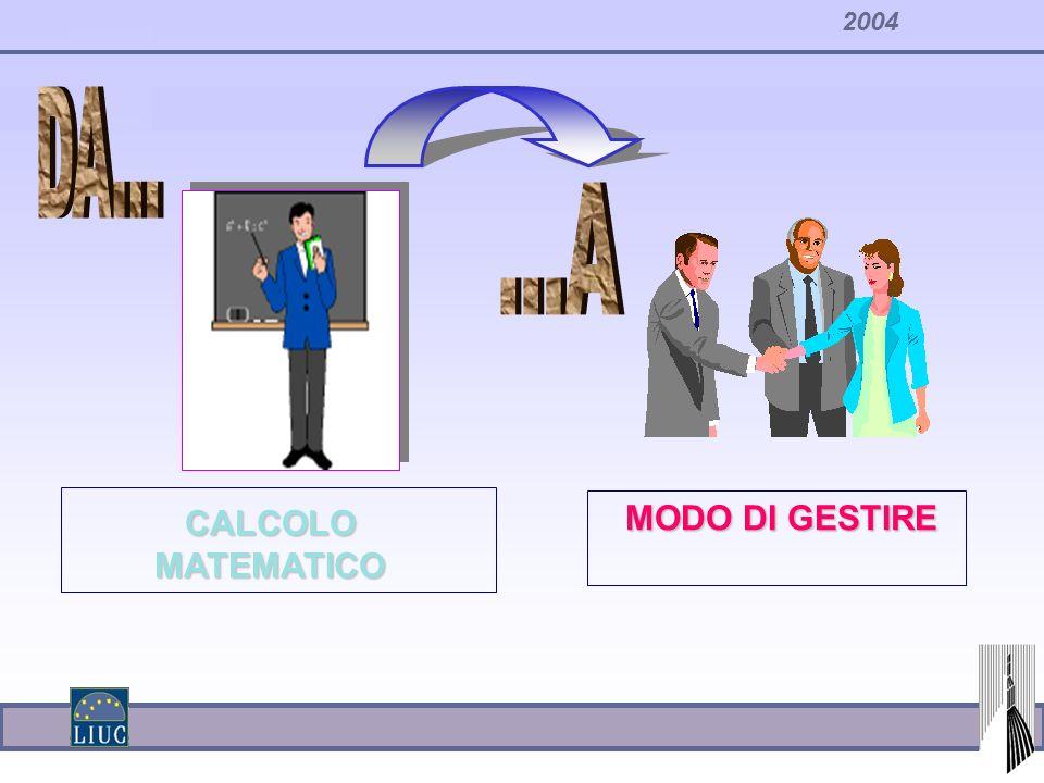 2004 CALCOLO MATEMATICO MODO DI GESTIRE
