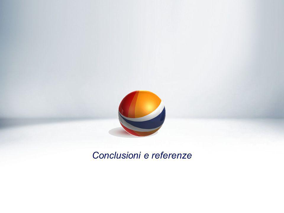 Conclusioni e referenze