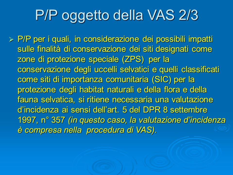 Novità in materia di IPPC 3/3 Art.9, c. 1 D.Lgs 59/05: Art.