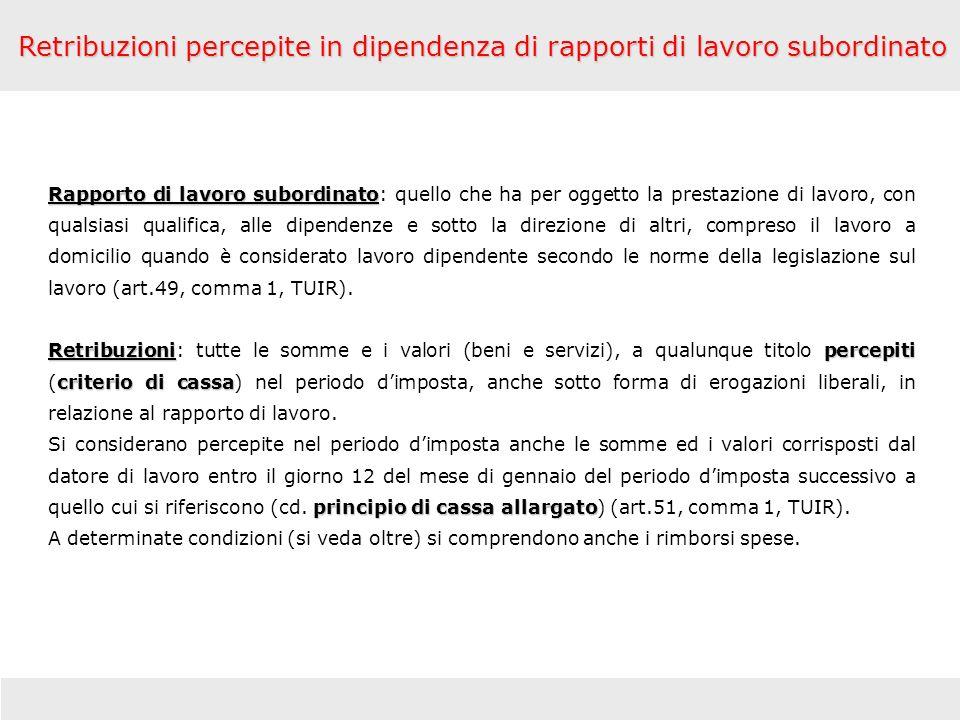 Indennità forfetaria 46,48 77,47 Le indennità percepite concorrono a formare il reddito per la parte che eccede 46,48 (trasferta in Italia) ed 77,47 (trasferta allestero).