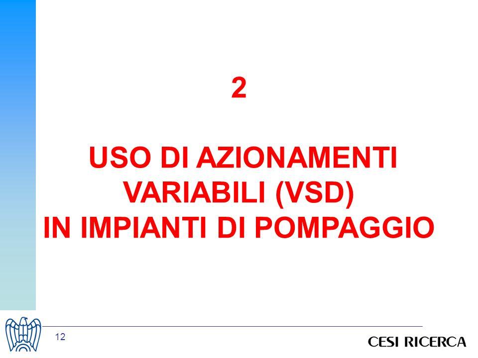12 2 USO DI AZIONAMENTI VARIABILI (VSD) IN IMPIANTI DI POMPAGGIO