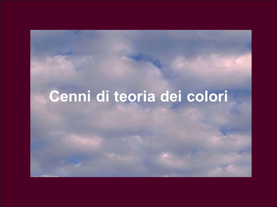 Luminosità (o chiarezza) Si riferisce a quanto il colore è chiaro o scuro, ed è legata alla ampiezza dellonda Il colore più chiaro è il bianco, il più scuro è il nero