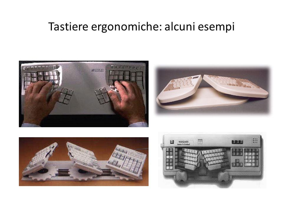 Tastiere ergonomiche: alcuni esempi