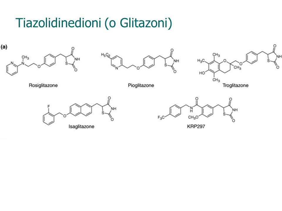 Tiazolidinedioni (o Glitazoni)