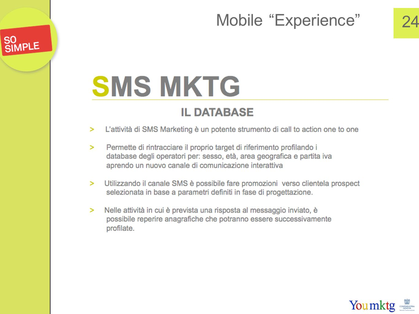 Mobile Experience 24