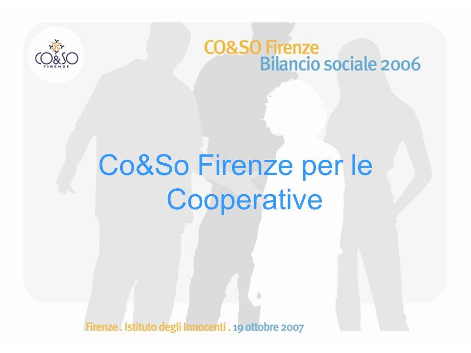 Co&So Firenze per le Cooperative