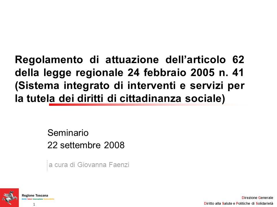 Titolo della Presentazione: 32pt Arial, Grassetto, Nero Lunghezza massima consigliata: 2 linee Direzione Generale Diritto alla Salute e Politiche di S