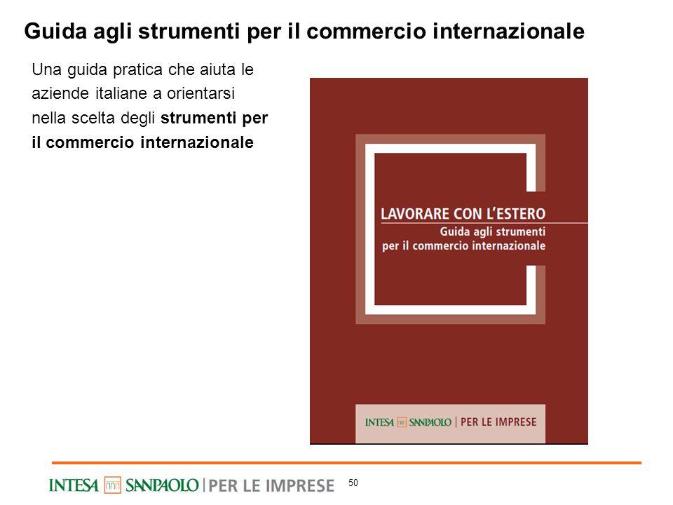 Una guida pratica che aiuta le aziende italiane a orientarsi nella scelta degli strumenti per il commercio internazionale Guida agli strumenti per il