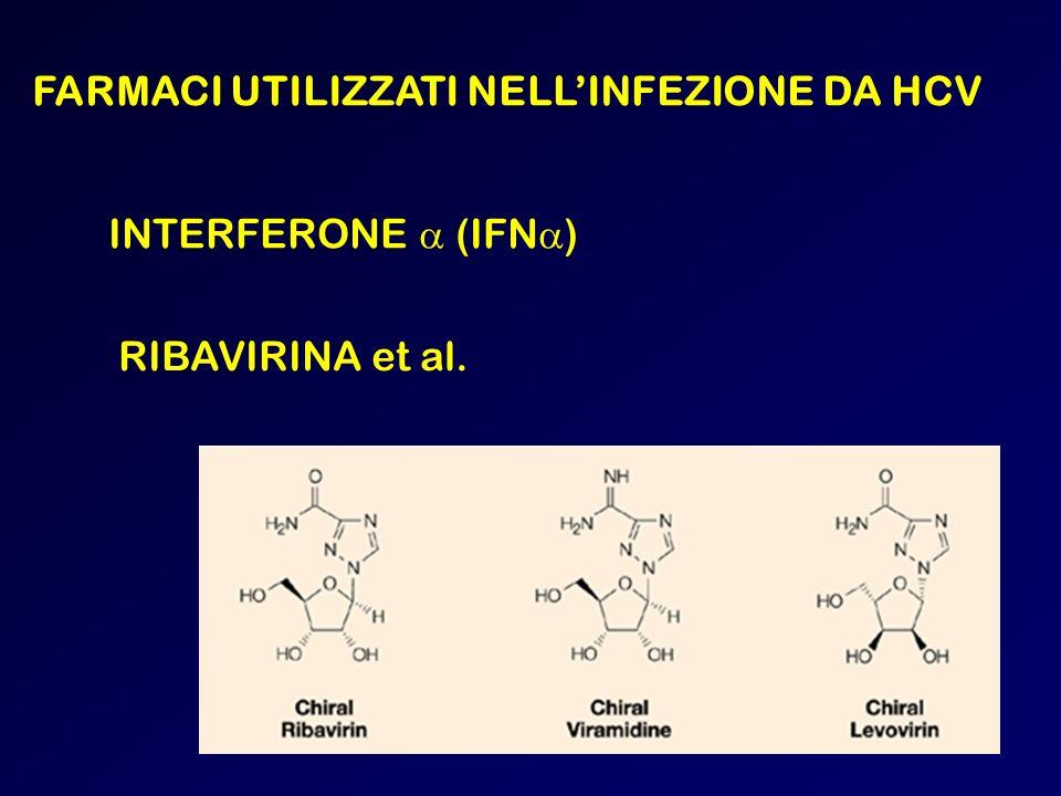 FARMACI UTILIZZATI NELLINFEZIONE DA HCV INTERFERONE (IFN ) RIBAVIRINA et al.