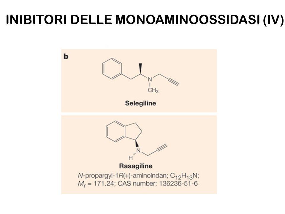 INIBITORI DELLE MONOAMINOOSSIDASI (IV)
