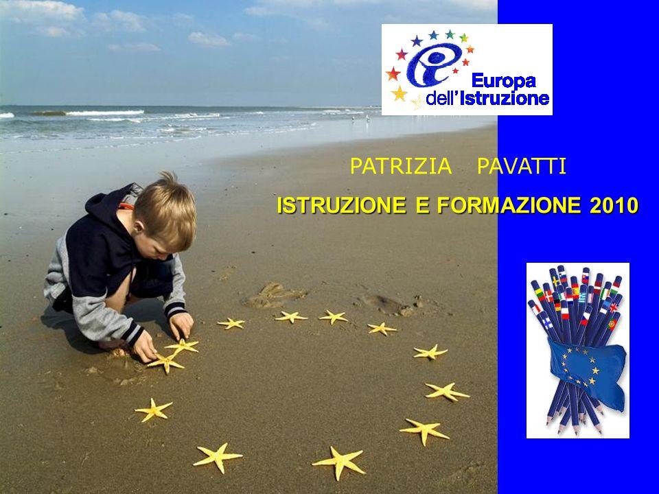 PATRIZIA PAVATTI ISTRUZIONE E FORMAZIONE 2010