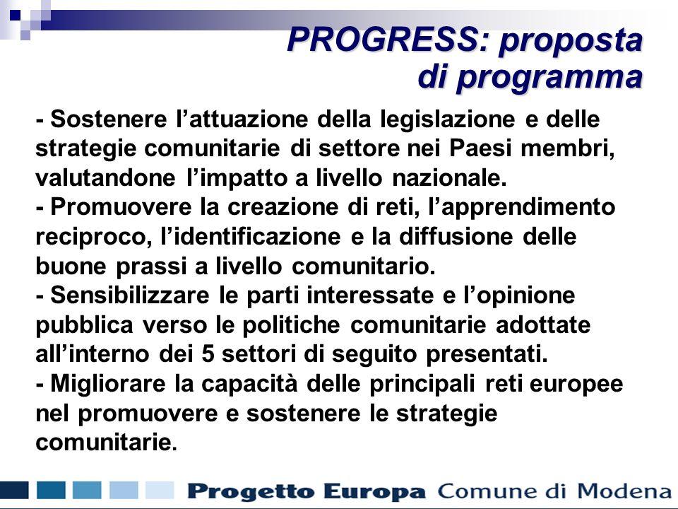 - Sostenere lattuazione della legislazione e delle strategie comunitarie di settore nei Paesi membri, valutandone limpatto a livello nazionale.