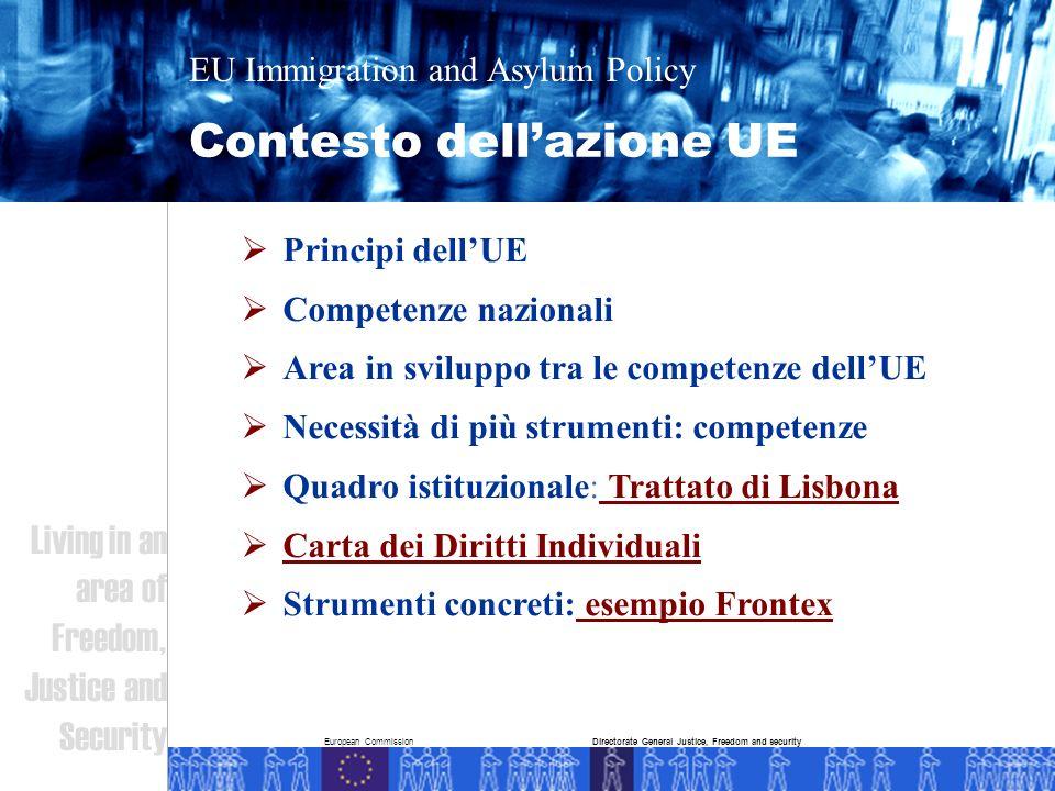 European Commission Perchè una politica comune.