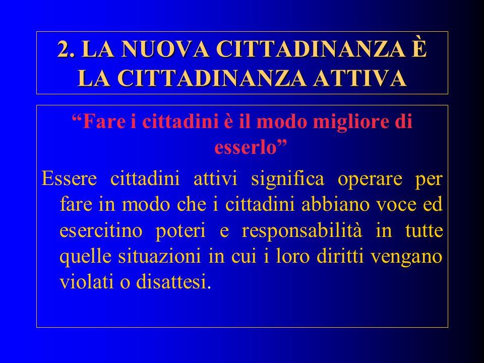 RECAPITI PER IL FEEDBACK g.trincia@cittadinanzattiva.it Giustino Trincia c/o Cittadinanzattiva Via Flaminia, 53 00196 – Roma 06367181 – 0636718333 (fax)
