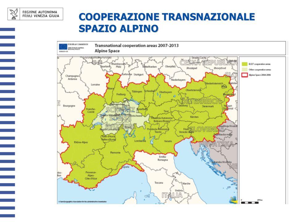 COOPERAZIONE TRANSNAZIONALE SPAZIO ALPINO