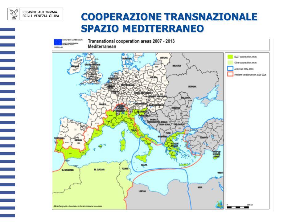 COOPERAZIONE TRANSNAZIONALE SPAZIO MEDITERRANEO