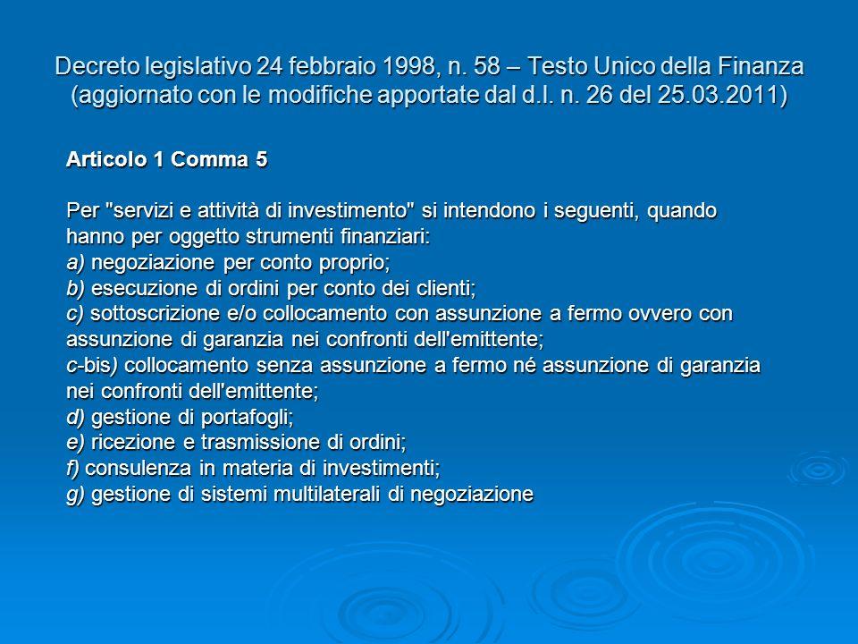 Decreto legislativo 24 febbraio 1998, n.