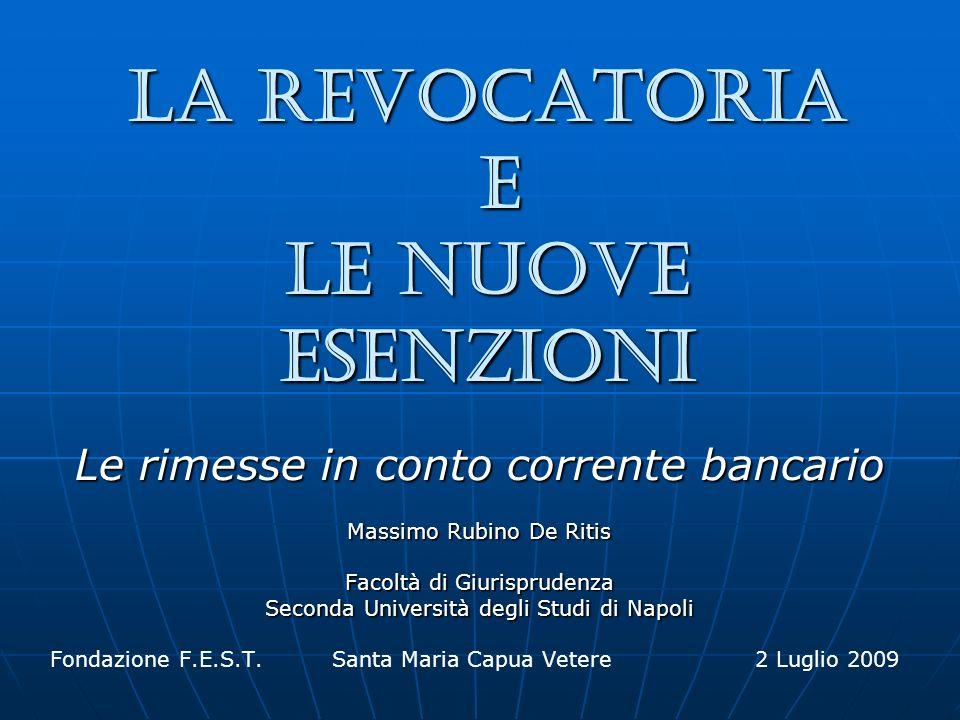 02 luglio 2009 prof.Massimo Rubino De Ritis 2 Il nuovo art.