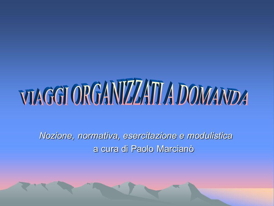 Nozione, normativa, esercitazione e modulistica a cura di Paolo Marcianò