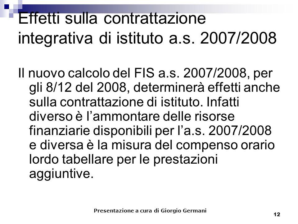 12 Effetti sulla contrattazione integrativa di istituto a.s.
