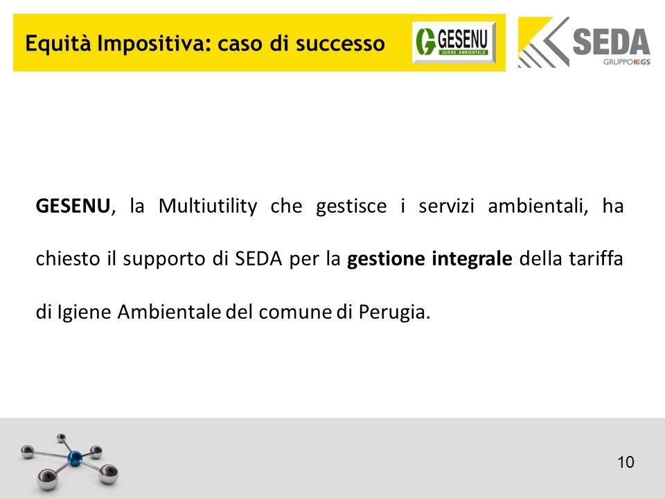 Equità Impositiva: caso di successo GESENU, la Multiutility che gestisce i servizi ambientali, ha chiesto il supporto di SEDA per la gestione integral