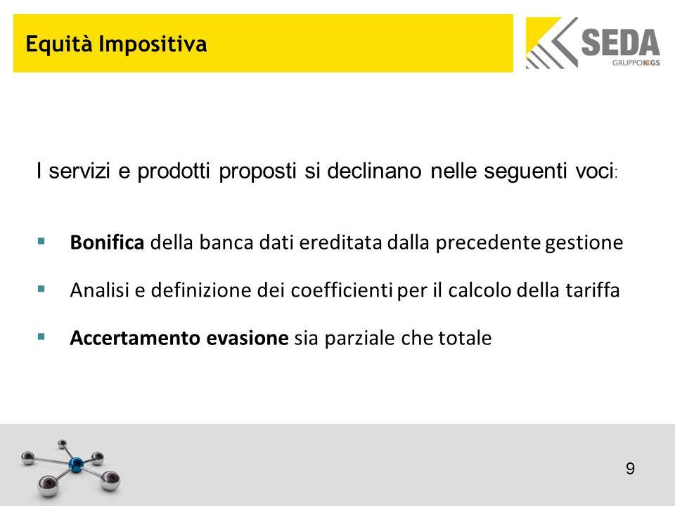 Equità Impositiva: caso di successo GESENU, la Multiutility che gestisce i servizi ambientali, ha chiesto il supporto di SEDA per la gestione integrale della tariffa di Igiene Ambientale del comune di Perugia.