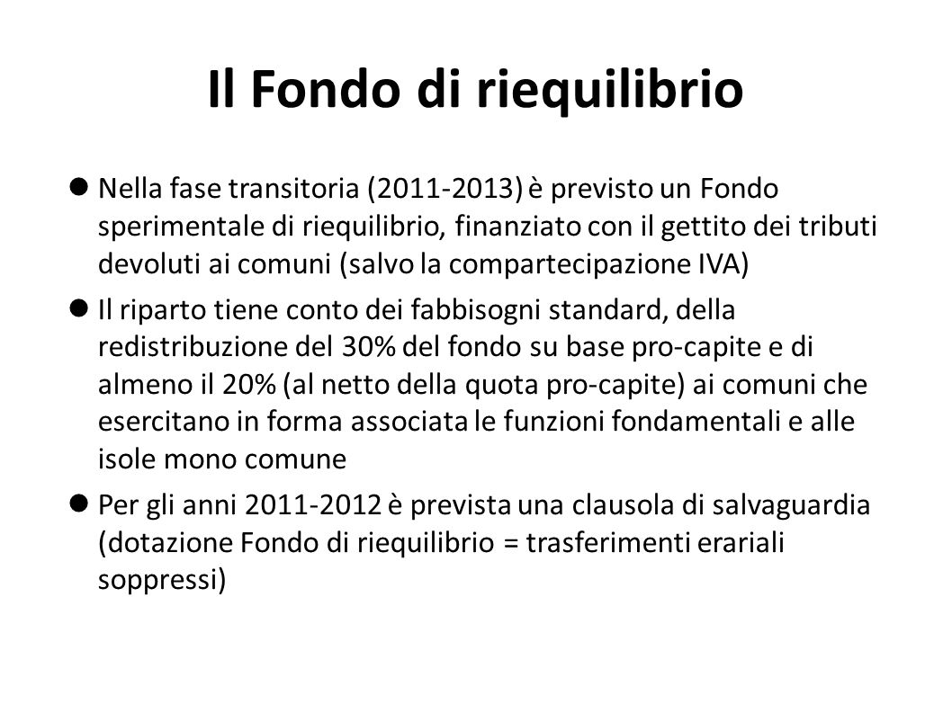 La cedolare secca sugli affitti Dal 2011 viene introdotta la facoltà, per i proprietari di abitazioni affittate, di optare per una imposta sostitutiva dellIRPEF (cedolare secca): 21% sui canoni di mercato 19% sui canoni concordati (Legge 431/1998) Il Governo ipotizza un notevole e crescente recupero di gettito evaso (548 milioni nel 2011, 912 nel 2012, 1.277 dal 2013).
