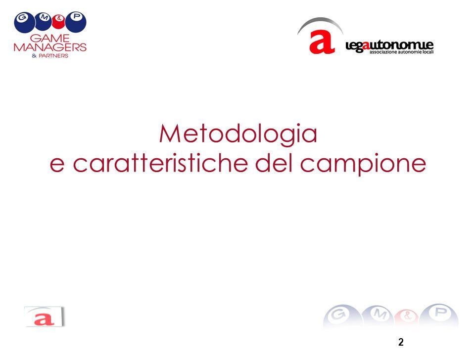 2 Metodologia e caratteristiche del campione