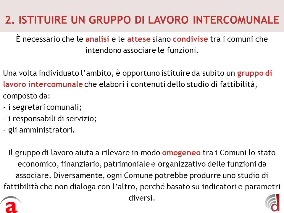 7.START UP E ADOZIONE DI SISTEMI DI CONTROLLO 1.